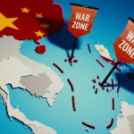 South China Sea conflict between China and Philippines over Spratly Islands and Paracel islands